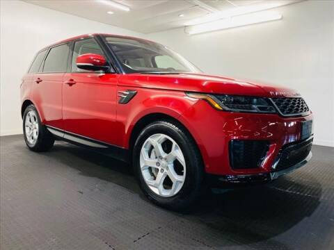 2018 Land Rover Range Rover Sport for sale at Champagne Motor Car Company in Willimantic CT