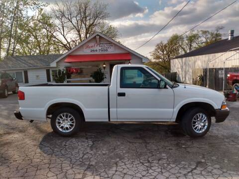 2003 Chevrolet S-10 for sale at PAUL'S PAINT & BODY SHOP in Des Moines IA