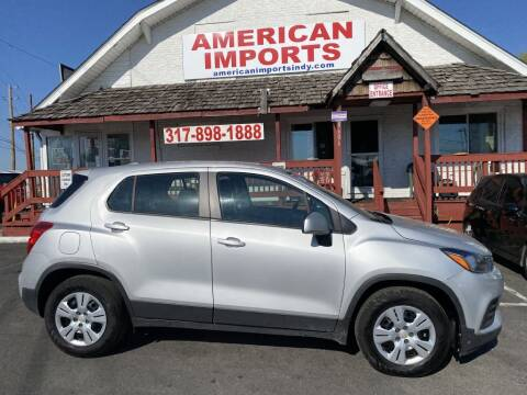 2019 Chevrolet Trax for sale at American Imports INC in Indianapolis IN