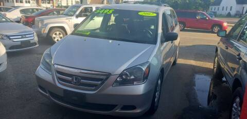2007 Honda Odyssey for sale at TC Auto Repair and Sales Inc in Abington MA