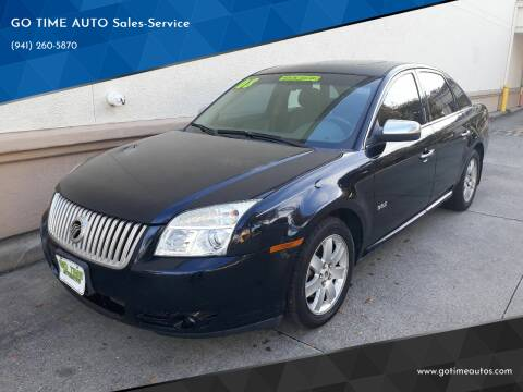 2008 Mercury Sable for sale at Go Time Automotive in Sarasota FL