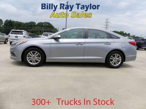 2016 Hyundai Sonata for sale at Billy Ray Taylor Auto Sales in Cullman AL