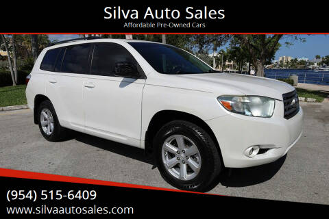 2010 Toyota Highlander for sale at Silva Auto Sales in Pompano Beach FL