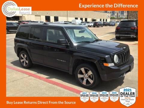 2016 Jeep Patriot for sale at Dallas Auto Finance in Dallas TX