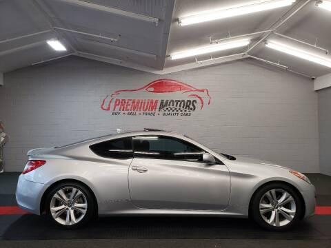 2012 Hyundai Genesis Coupe for sale at Premium Motors in Villa Park IL