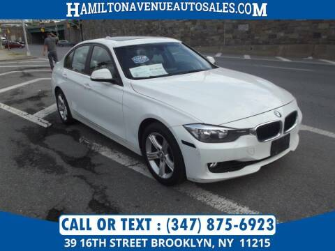 2013 BMW 3 Series for sale at Hamilton Avenue Auto Sales in Brooklyn NY