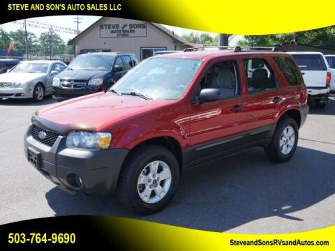 2005 Ford Escape for sale at Steve & Sons Auto Sales in Happy Valley OR
