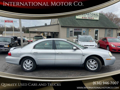 2004 Mercury Sable for sale at International Motor Co. in St. Charles MO
