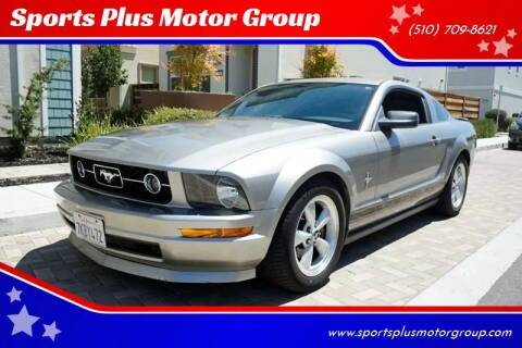 2008 Ford Mustang for sale at Sports Plus Motor Group LLC in Sunnyvale CA