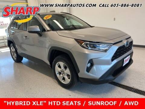 2019 Toyota RAV4 Hybrid for sale at Sharp Automotive in Watertown SD