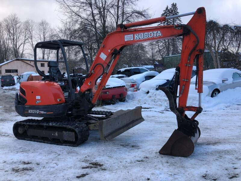 2014 Kubota Kx121 for sale at D & M Auto Sales & Repairs INC in Kerhonkson NY