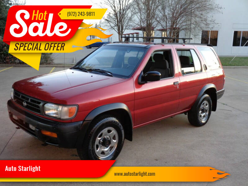 1997 Nissan Pathfinder for sale at Auto Starlight in Dallas TX