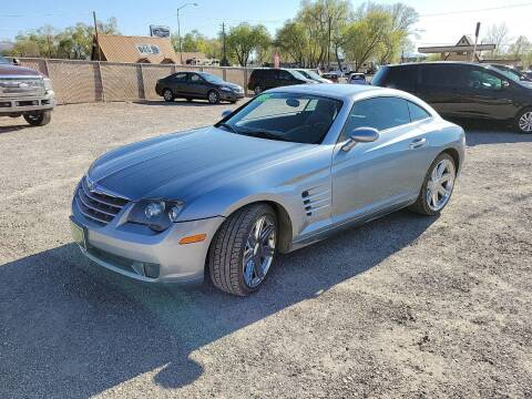 2006 Chrysler Crossfire for sale at Canyon View Auto Sales in Cedar City UT