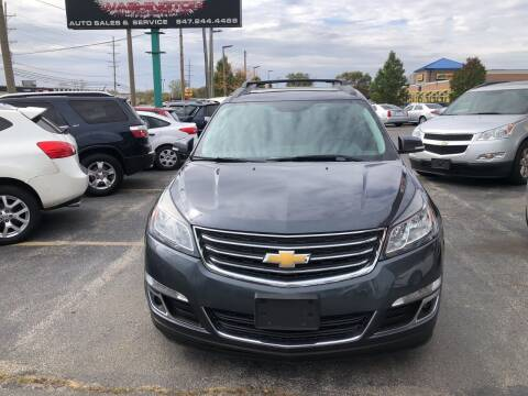 2013 Chevrolet Traverse for sale at Washington Auto Group in Waukegan IL