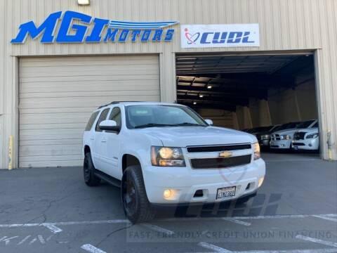 2012 Chevrolet Tahoe for sale at MGI Motors in Sacramento CA