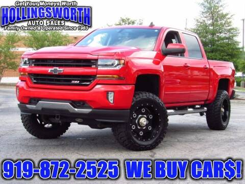 2017 Chevrolet Silverado 1500 for sale at Hollingsworth Auto Sales in Raleigh NC