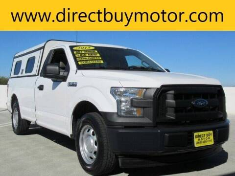 2015 Ford F-150 for sale at Direct Buy Motor in San Jose CA