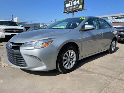 2016 Toyota Camry for sale at MAGIC AUTO SALES, LLC in Nampa ID