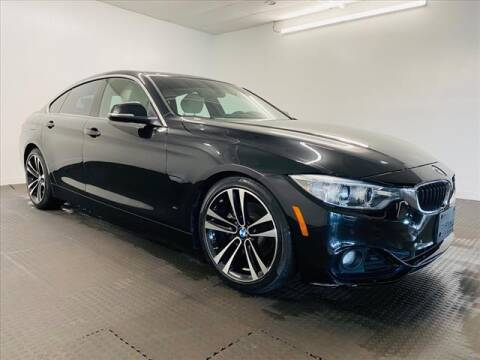 2016 BMW 4 Series for sale at Champagne Motor Car Company in Willimantic CT