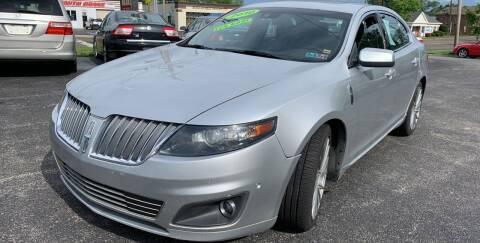 2010 Lincoln MKS for sale at Boardman Auto Mall in Boardman OH