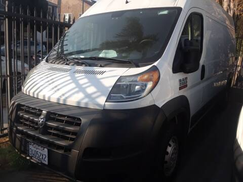 2018 RAM ProMaster Cargo for sale at Western Motors Inc in Los Angeles CA