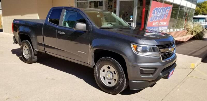 2017 Chevrolet Colorado for sale at Swift Auto Center of North Platte in North Platte NE