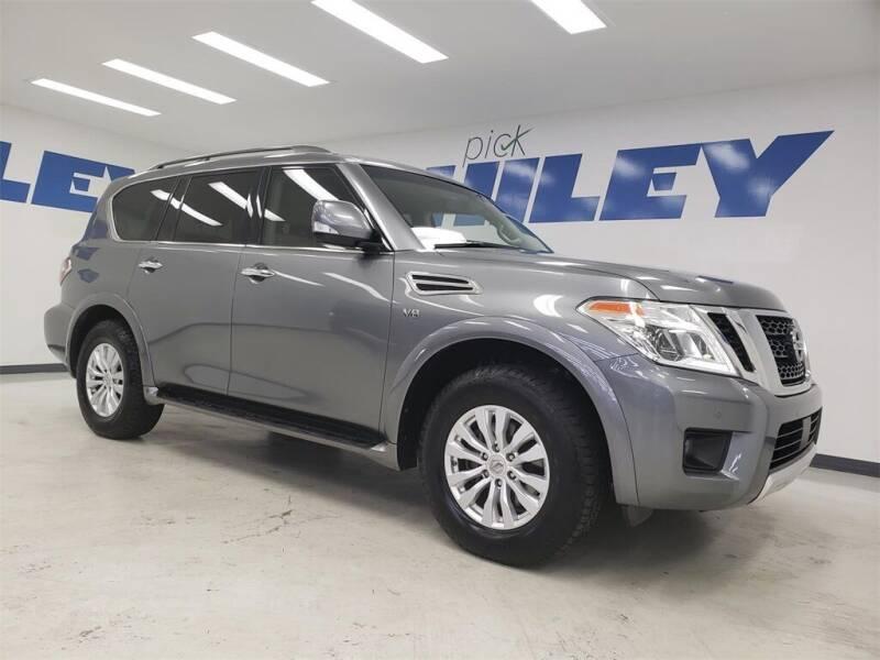 2017 Nissan Armada for sale at HILEY MAZDA VOLKSWAGEN of ARLINGTON in Arlington TX