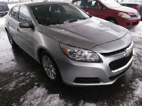 2015 Chevrolet Malibu for sale at Divine Auto Sales LLC in Omaha NE