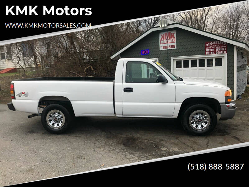 2006 GMC Sierra 1500 for sale at KMK Motors in Latham NY