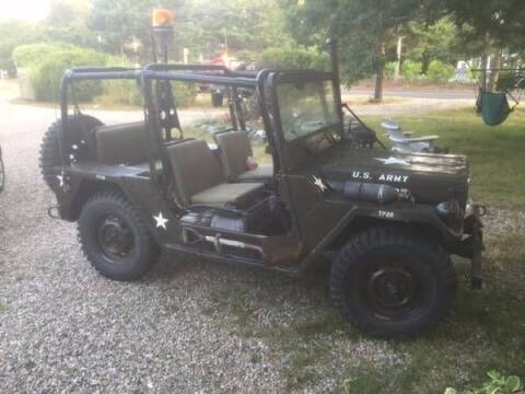 1968 AM General M151A2 for sale at Classic Car Deals in Cadillac MI