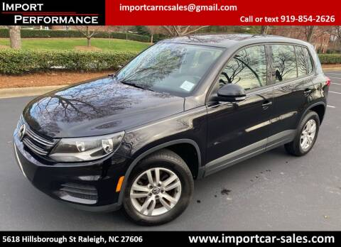2013 Volkswagen Tiguan for sale at Import Performance Sales in Raleigh NC