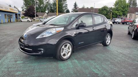 2011 Nissan LEAF for sale at Good Guys Used Cars Llc in East Olympia WA
