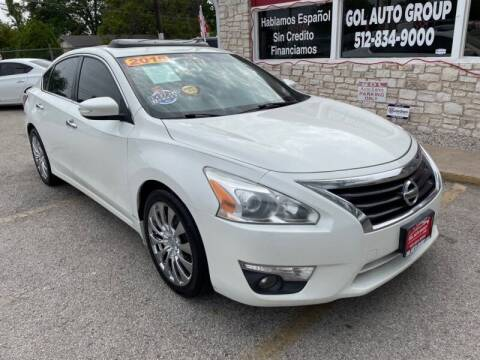 2015 Nissan Altima for sale at GOL Auto Group in Austin TX
