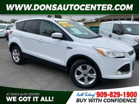 2014 Ford Escape for sale at Dons Auto Center in Fontana CA