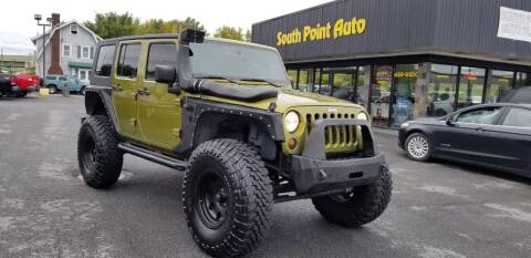 2008 Jeep Wrangler Unlimited for sale at South Point Auto Plaza, Inc. in Albany NY