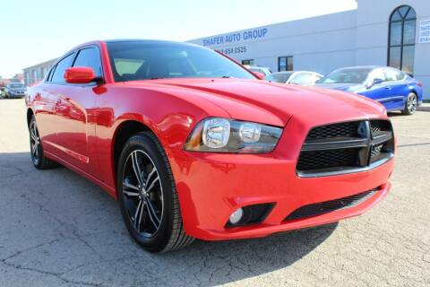 2014 Dodge Charger for sale at SHAFER AUTO GROUP in Columbus OH