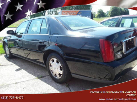 "2004 Cadillac DeVille for sale at MIDWESTERN AUTO SALES        ""The Used Car Center"" in Middletown OH"