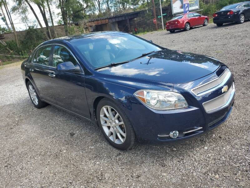 2012 Chevrolet Malibu for sale at Johnsons Car Sales in Richmond IN