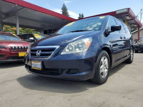2006 Honda Odyssey for sale at ALL CREDIT AUTO SALES in San Jose CA