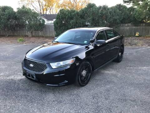 2015 Ford Taurus for sale at Elwan Motors in West Long Branch NJ