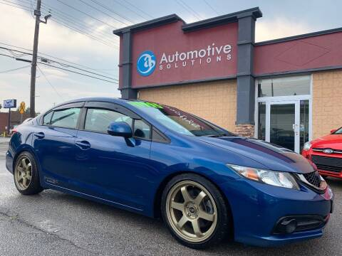2013 Honda Civic for sale at Automotive Solutions in Louisville KY