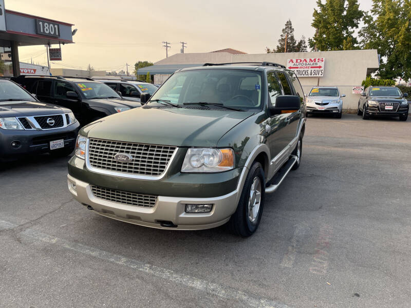 2005 Ford Expedition for sale at Adams Auto Sales in Sacramento CA