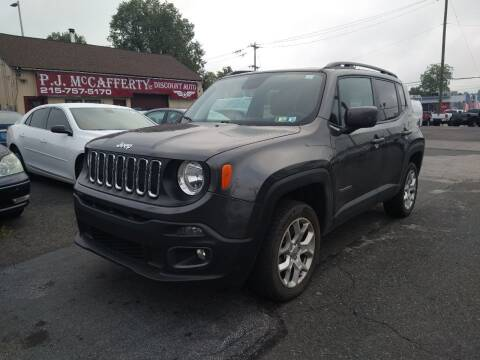 2018 Jeep Renegade for sale at P J McCafferty Inc in Langhorne PA