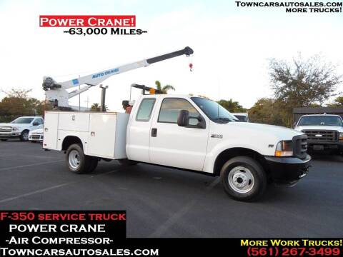 2002 Ford F-350 Super Duty for sale at Town Cars Auto Sales in West Palm Beach FL