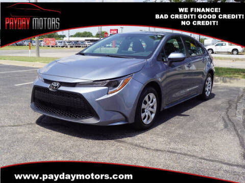 2021 Toyota Corolla for sale at Payday Motors in Wichita KS