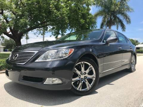 2008 Lexus LS 460 for sale at DS Motors in Boca Raton FL