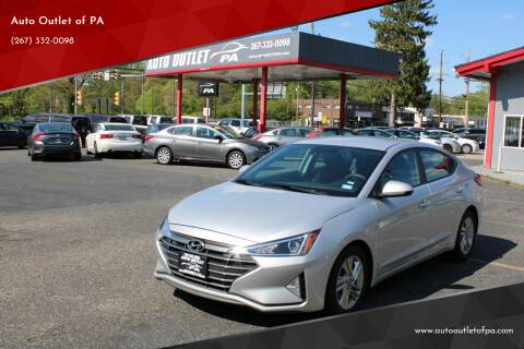 2019 Hyundai Elantra for sale at Deals N Wheels 306 in Burlington NJ