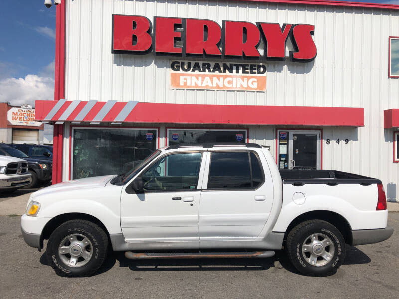 2003 Ford Explorer Sport Trac for sale at Berry's Cherries Auto in Billings MT