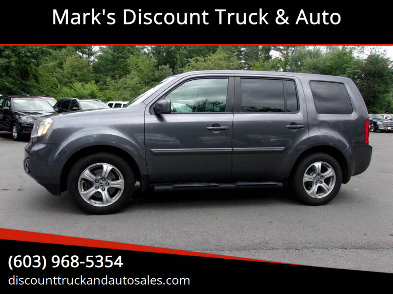 2015 Honda Pilot for sale at Mark's Discount Truck & Auto in Londonderry NH