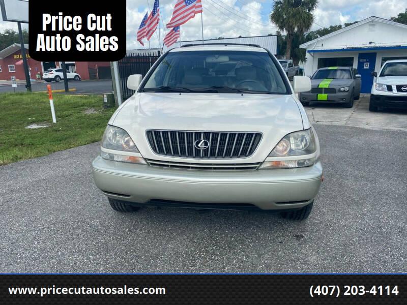 2000 Lexus RX 300 for sale at Price Cut Auto Sales in Orlando FL